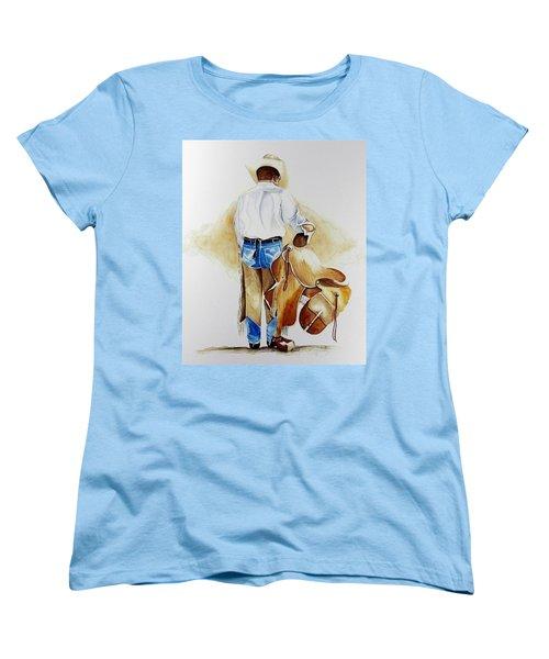 Quittin Time Women's T-Shirt (Standard Cut) by Jimmy Smith