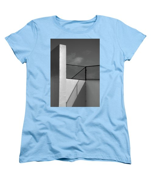 Women's T-Shirt (Standard Cut) featuring the photograph Racquetball IIi  by Richard Rizzo