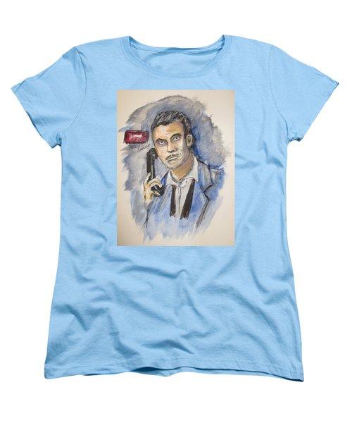 Radio's Philip Marlowe Women's T-Shirt (Standard Cut) by Clyde J Kell