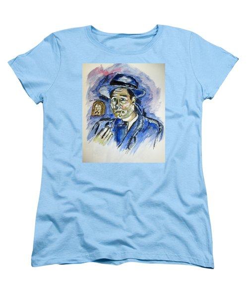 Radio's Sam Spade Women's T-Shirt (Standard Cut) by Clyde J Kell