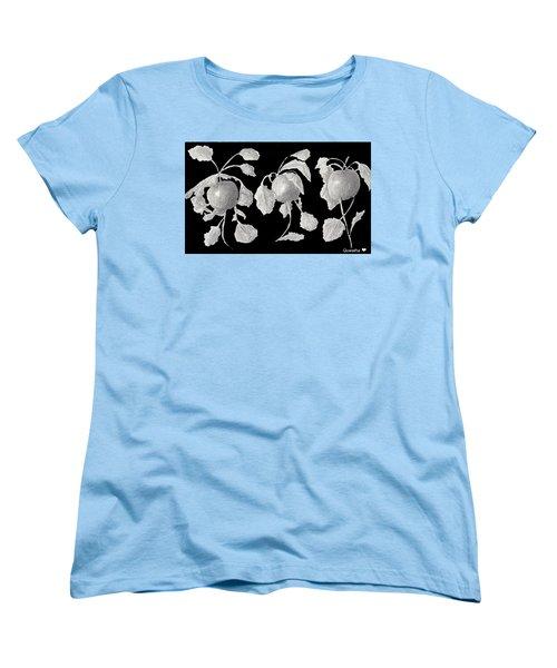 Radishes Women's T-Shirt (Standard Cut) by Quwatha Valentine