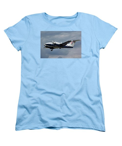 Raf Beech King Air 200  Women's T-Shirt (Standard Cut) by Tim Beach