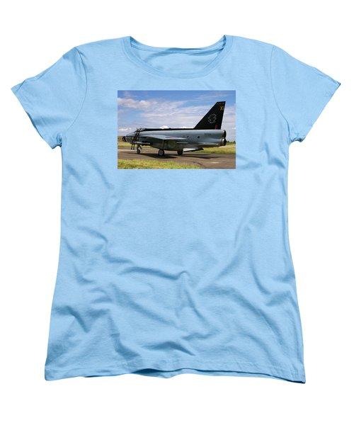 Raf English Electric Lightning F6 Women's T-Shirt (Standard Cut) by Tim Beach