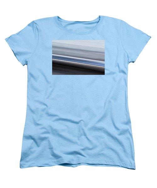 Women's T-Shirt (Standard Cut) featuring the photograph Railway Lines by John Williams