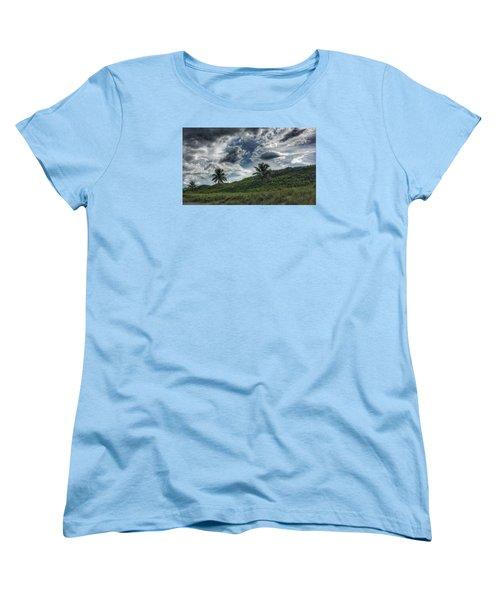 Rain Clouds Women's T-Shirt (Standard Cut)