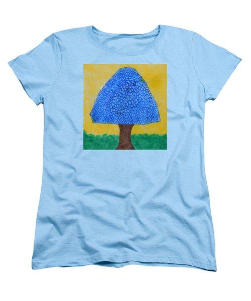 Rain Harmony Tree Women's T-Shirt (Standard Cut)