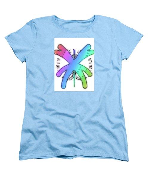 Rainbow Bug Women's T-Shirt (Standard Cut)