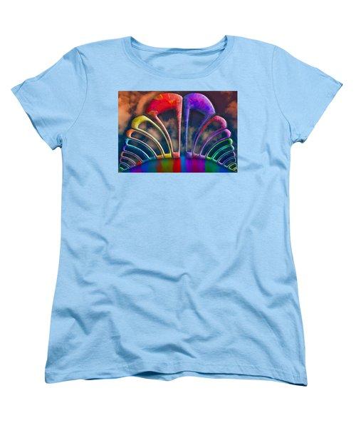 Rainbow Hill Women's T-Shirt (Standard Cut) by Paul Wear