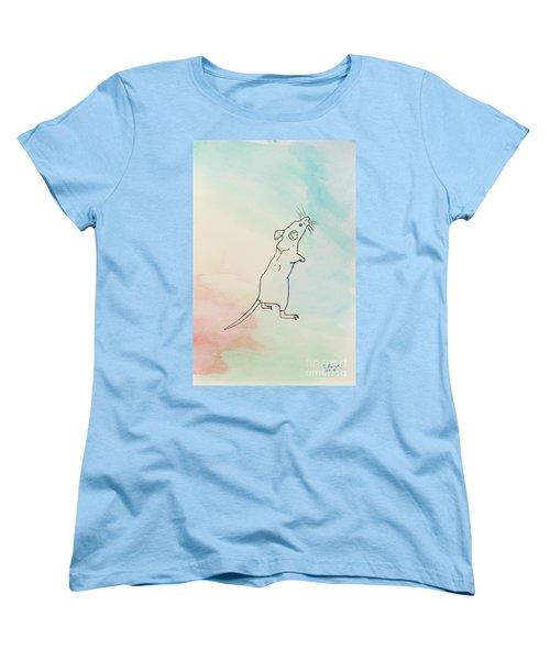 Rainbow Mouse Women's T-Shirt (Standard Cut)