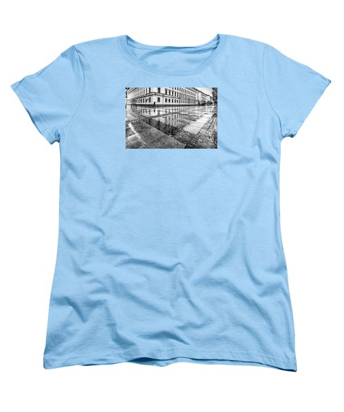 Women's T-Shirt (Standard Cut) featuring the photograph Rainy Day by Jivko Nakev