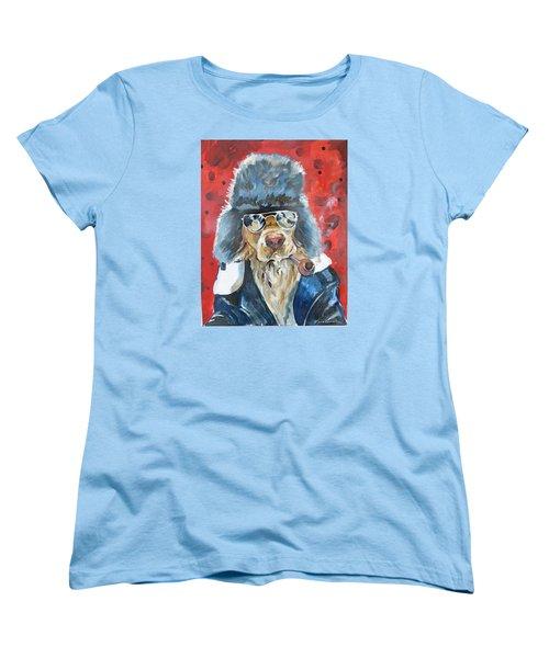 Women's T-Shirt (Standard Cut) featuring the painting Ralph by P Maure Bausch
