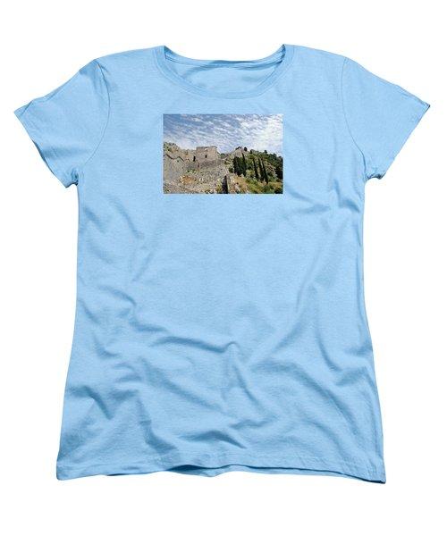 Ramparts Of Montenegro Women's T-Shirt (Standard Cut) by Robert Moss
