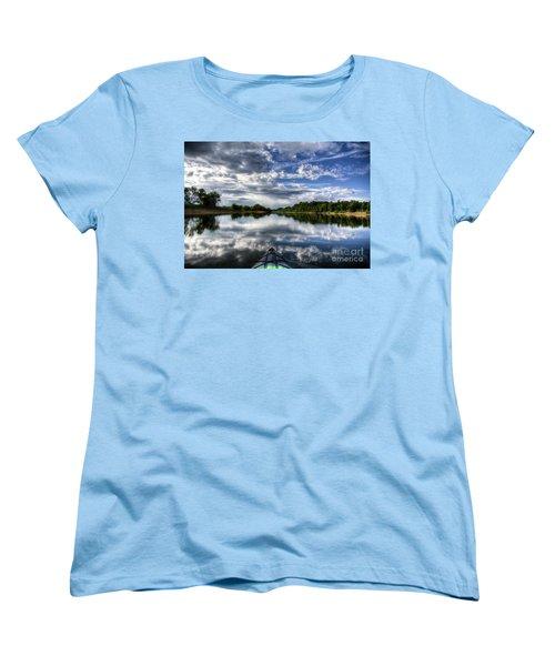 Women's T-Shirt (Standard Cut) featuring the photograph Rankin Bottoms Hdr by Douglas Stucky