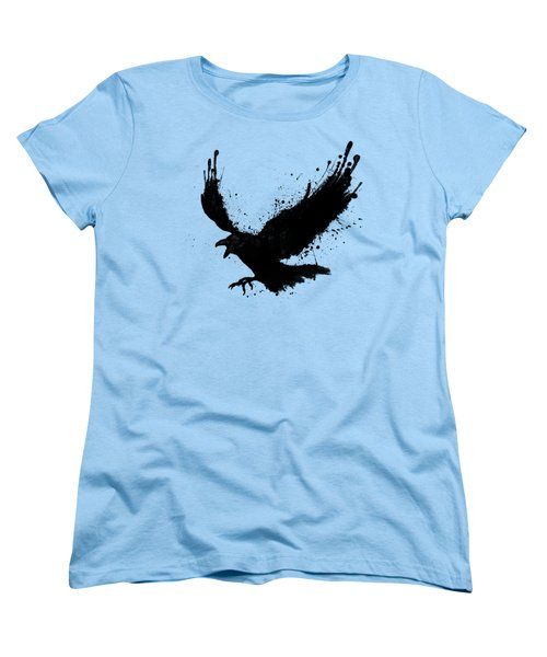 Raven Women's T-Shirt (Standard Cut) by Nicklas Gustafsson