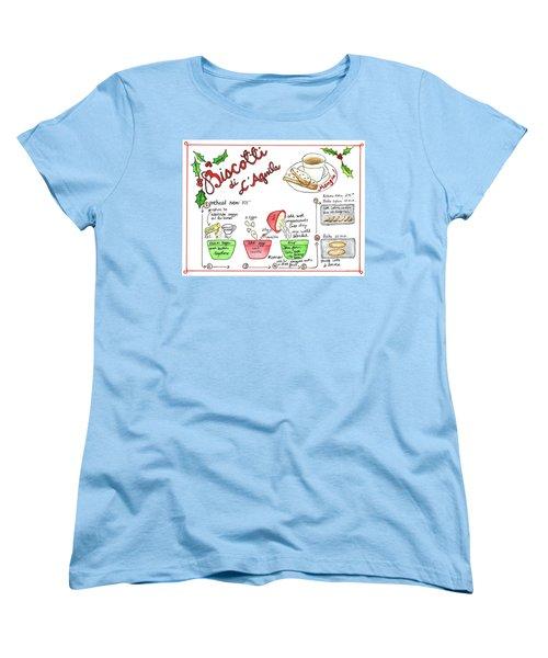 Recipe Biscotti Women's T-Shirt (Standard Cut)