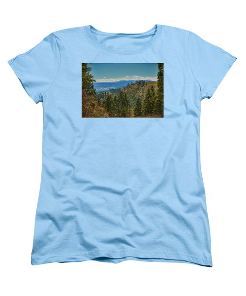Recovery After Fire At Yellowstone Women's T-Shirt (Standard Cut) by Penny Lisowski