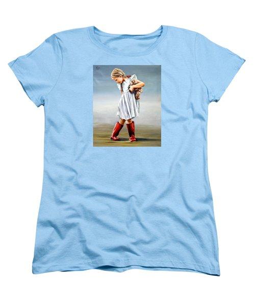 Red Boots Women's T-Shirt (Standard Cut)