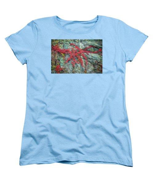 Red Creeper Women's T-Shirt (Standard Cut) by David Cote