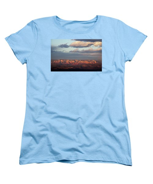 Women's T-Shirt (Standard Cut) featuring the photograph Red Rock Crossing, Sedona by Ron Chilston