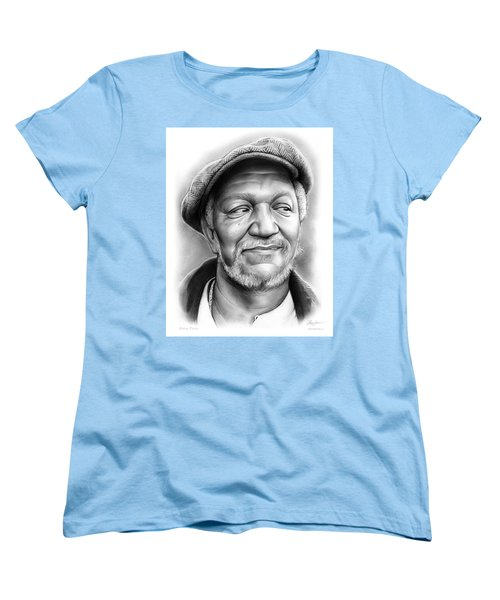 Redd Foxx Women's T-Shirt (Standard Cut) by Greg Joens
