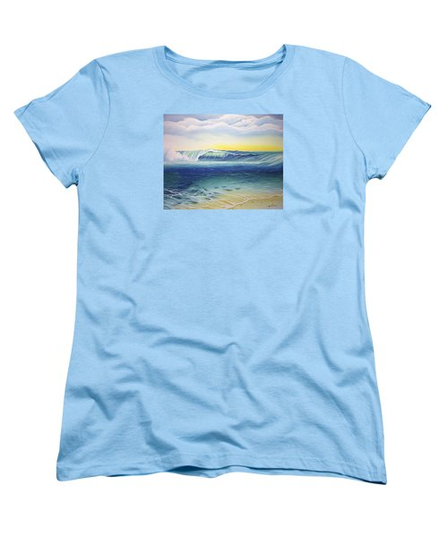 Reef Bowl Women's T-Shirt (Standard Cut) by William Love