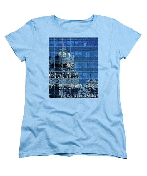 Reflection And Refraction Women's T-Shirt (Standard Cut) by Alex Galkin