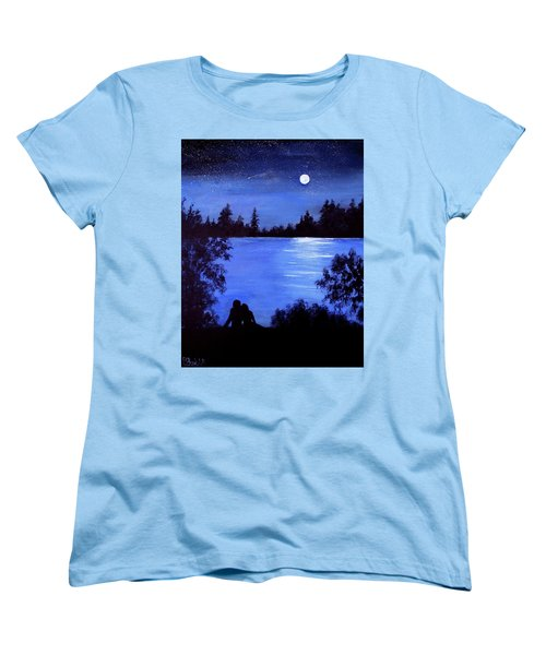 Reflection By The Water Women's T-Shirt (Standard Cut)
