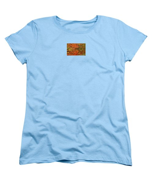 Reflection Of Autumn Women's T-Shirt (Standard Cut) by Midori Chan