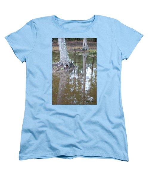 Reflections Women's T-Shirt (Standard Cut) by Gordon Mooneyhan