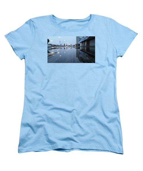 Reflections Of The Boardwalk Women's T-Shirt (Standard Cut)