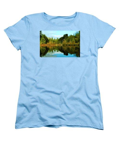 Reflections Women's T-Shirt (Standard Cut) by Timothy Hack