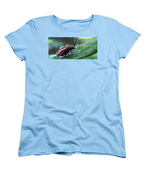 Refreshing Shower_4232 Women's T-Shirt (Standard Cut) by Maciek Froncisz