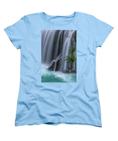 Refreshing Waterfall Women's T-Shirt (Standard Cut)