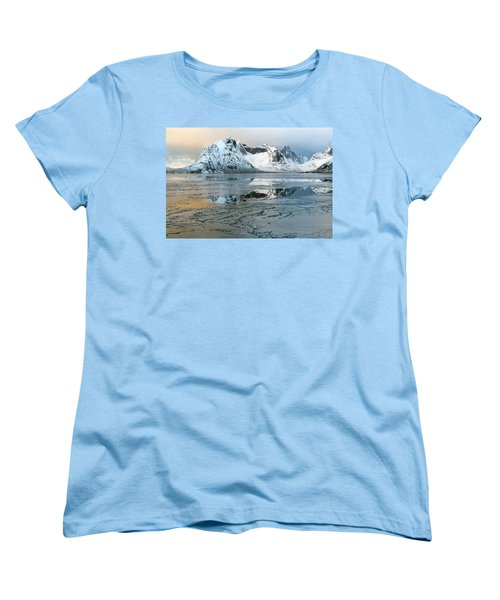 Reine, Lofoten 5 Women's T-Shirt (Standard Cut) by Dubi Roman