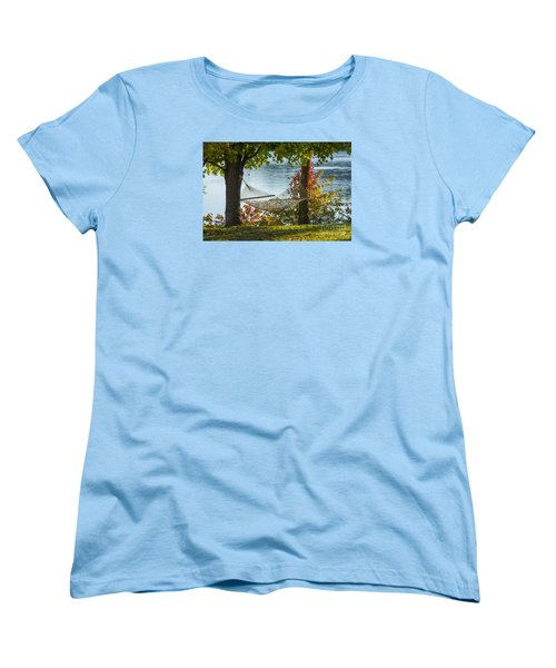 Relax By The Water Women's T-Shirt (Standard Cut) by Alana Ranney
