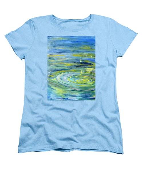 Relaxation Women's T-Shirt (Standard Cut) by Evelina Popilian