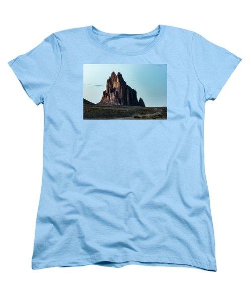 Remote Yet Imposing Women's T-Shirt (Standard Cut) by Jon Glaser
