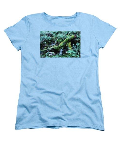 Resting Comfortably Women's T-Shirt (Standard Cut) by Donna Blackhall