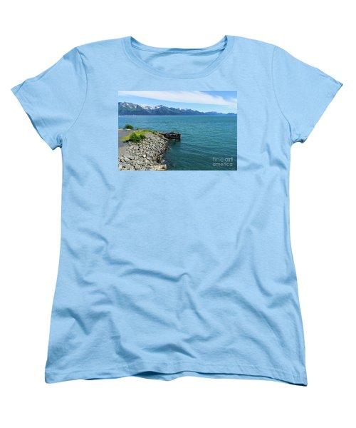 Resurrection Bay Women's T-Shirt (Standard Cut) by Jennifer White