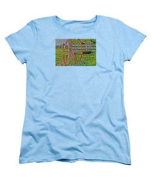 Retired Women's T-Shirt (Standard Cut) by William Norton