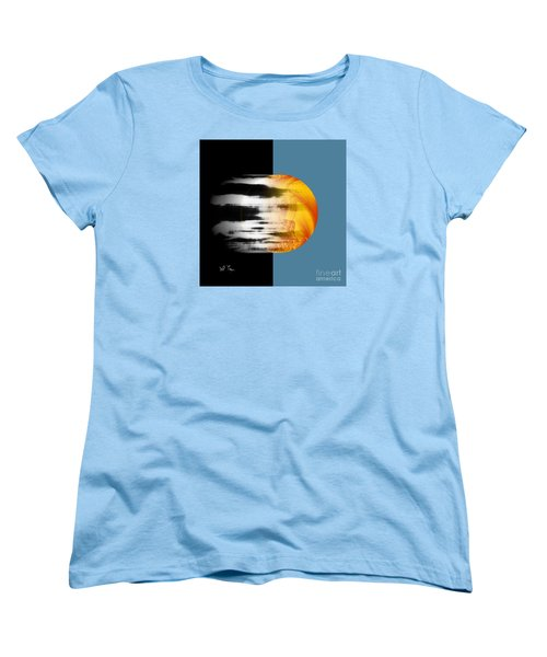 Women's T-Shirt (Standard Cut) featuring the digital art Revelation by Leo Symon