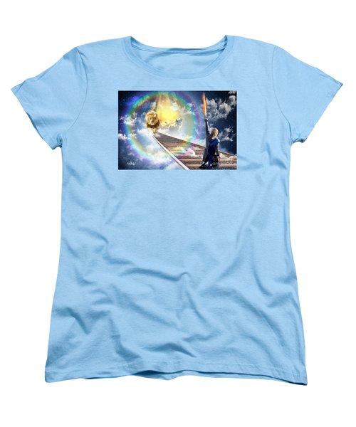 Women's T-Shirt (Standard Cut) featuring the digital art Reward by Dolores Develde