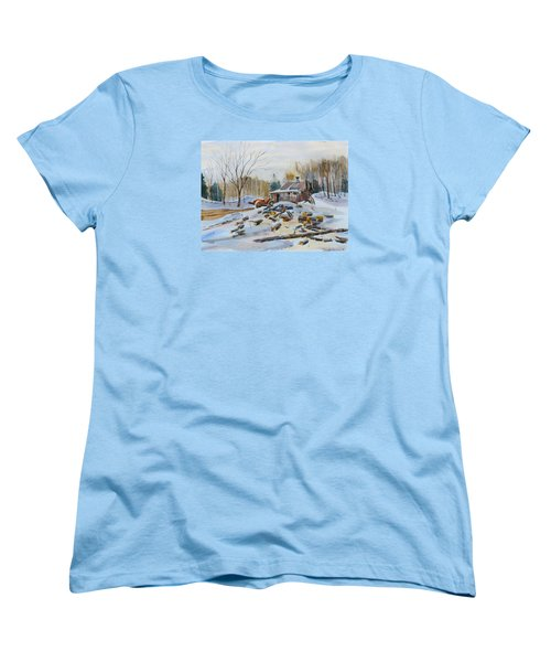 Reynold's Sugar Shack Women's T-Shirt (Standard Cut) by David Gilmore