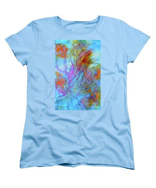Rhapsody In Blue Women's T-Shirt (Standard Cut)