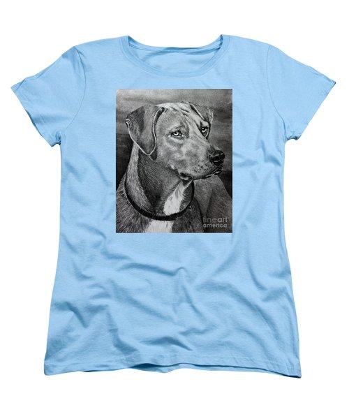 Rhodesian Ridgeback Women's T-Shirt (Standard Cut) by Terri Mills