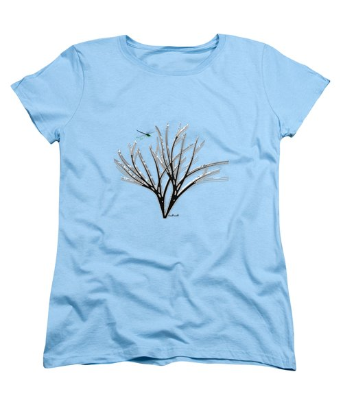 Ribbon Grass Women's T-Shirt (Standard Cut) by Asok Mukhopadhyay