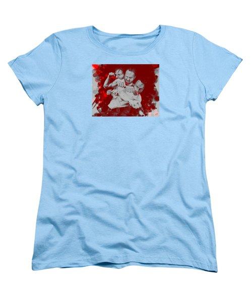 Rick Grimes Women's T-Shirt (Standard Cut) by David Kraig
