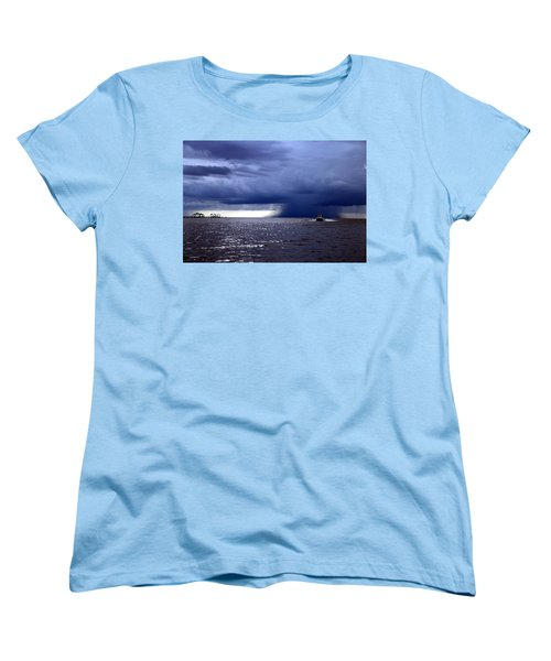 Riders On The Storm Women's T-Shirt (Standard Cut) by Rdr Creative