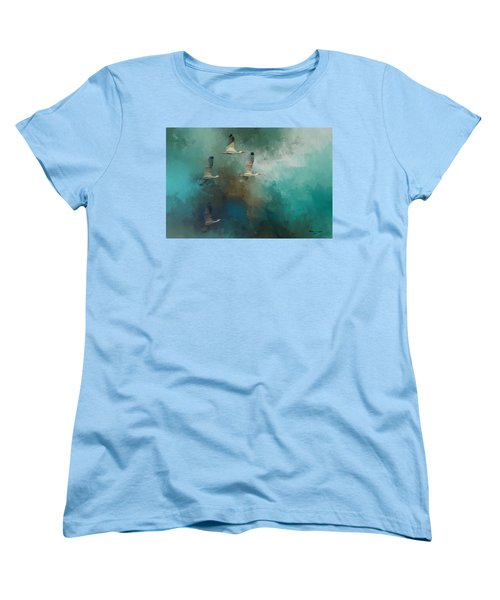 Women's T-Shirt (Standard Cut) featuring the photograph Riding The Winds by Marvin Spates