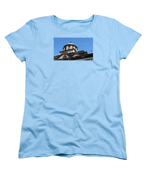 Women's T-Shirt (Standard Cut) featuring the photograph Rila Monastery Photograph by Milena Ilieva